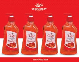 Liquid Hand Wash Strawberry 500 Ml ( Combo Of 4 )