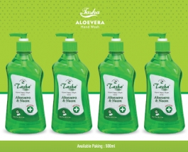 Liquid Hand Wash Aloevera & Neem 500 Ml  ( Combo Of 4 )