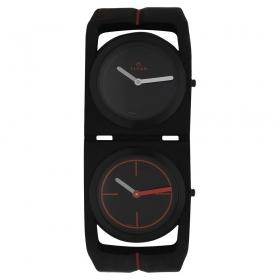 Titan Edge Sport Dual Time Series Ultra Slim Thin Watch For Men (1653np02)