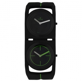 Titan Edge Sport Dual Time Series Ultra Slim Thin Watch For Men (1653np03)
