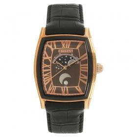 Titan Classique Brown Dial Analog Watch For Men (1661kl01)