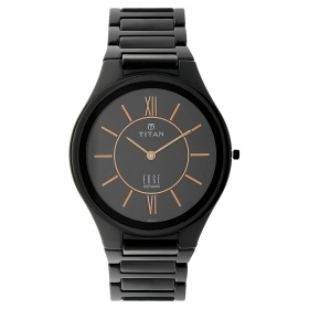 Titan Edge Ceramic Analog Watch (1696nc01)