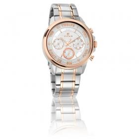 Titan Regalia Sovereign White Dial Chronograph Watch For Men (1747km01)