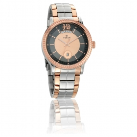 Titan Regalia Sovereign Multicoloured Dial Analog Watch For Men (1751km01)