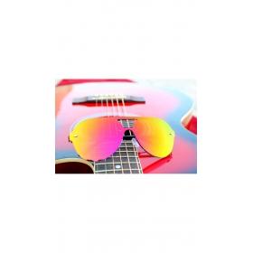 Golden Sunglasses Wayfarer Sky Blue Goggles Round For Men