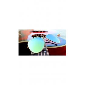 Oval Shape Mercury Wayfarer Sunglasses Red Yellow Shade Medium Size For Men