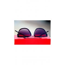 Full Blue Fancy Wayfarer Sunglasses Round For Men Uv Protected