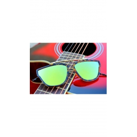 Xforia Eyewear Green Aviator Mirror Sunglasses Round Goggles For Men & Women