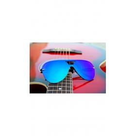 Xforia Eyewear Blue Aviator Mirrored Summer Sunglasses Uv Protection For Men & Women