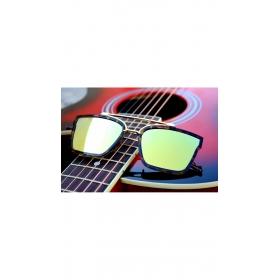 Xforia Eyewear Club Yellow Square Oval Shape Aviator Sunglasses For Men & Women
