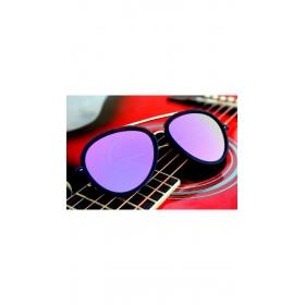 Xforia Eyewear Purple Aviator Mercury Sunglasses Round Summer Goggles For Men & Women