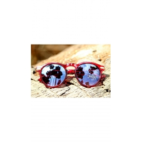 Xforia Eyerwear Round Wayfarer Red Mercury Suglasses Uv Protection For Men & Women