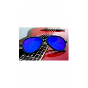 Xforia Eyerwear Blue Retro Vintage Aviator Sunglasses Uv Protective Goggles For Men & Women