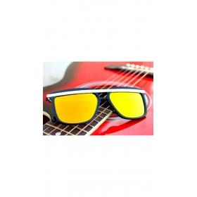 Xforia Eyerwear Rectangular Retro Vintage Yellow Wayfarer Sunglasses Goggles For Men & Women