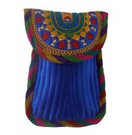 Handicraft Kutchi Blue Purse