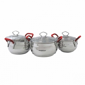6 Pc Butterfly Handi Set Cook & Serve
