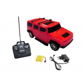 Fantasy India Red Rechargeable Remote Control Hummer Car