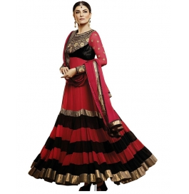 Maroon Color Suit With Bottom And Dupatta
