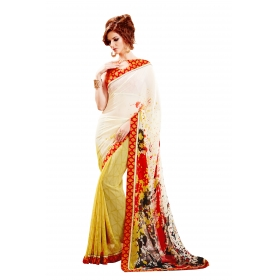 D No 1001 Sher - Sheraton Series - Office / Daily Wear Saree