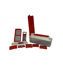 Vinayaka- Nicer Dicer Unbreakable Plastic Zalak Model- 12 Attachment