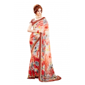 D No 1008 Sher - Sheraton Series - Office / Daily Wear Saree