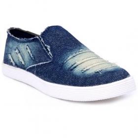 Blinder Men's Blue Denim Shoes