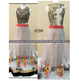 Sas Creations Net Multi Lehenga
