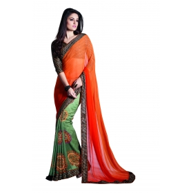D No 1001 Rang - Rangoon Series - Office / Daily Wear Saree
