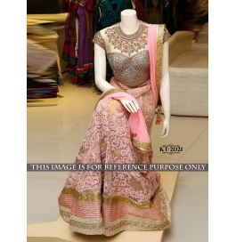 Sas Creations Super Best Georgette Multi Lehenga