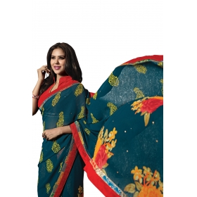 D No 1002 B - Regania Series - Office / Daily Wear Saree