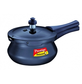 Prestige Deluxe Plus Induction Base Hard Anodised Pressure Handi : 2 Ltr