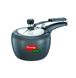 Prestige Apple Duo Plus Hard Anodised Pressure Cooker : 3 Litre