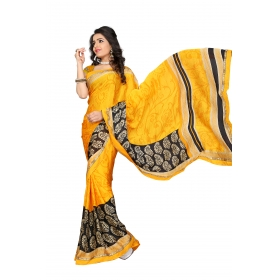 D No 114spr - Spring Velly Series - Office / Daily Wear Saree