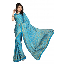 D No 109spr - Spring Velly Series - Office / Daily Wear Saree