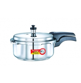 Prestige Deluxe Alpha Induction Based Stainless Steel Pressure Cooker : 2 Litre