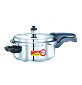 Prestige Deluxe Alpha Induction Based Stainless Steel Pressure Cooker : 3 Litre