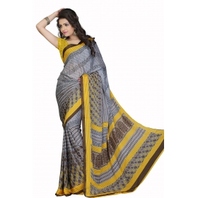 D No 101 Pen - Pencil Crape Series - Office / Daily Wear Saree