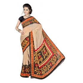 D No 2011 Snow - Snow Fall Series - Office / Daily Wear Saree