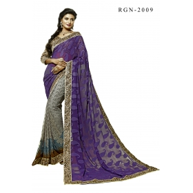 D No 2009 Rang 2 - Rangoon Vol - 2 Series - Office / Daily Wear Saree