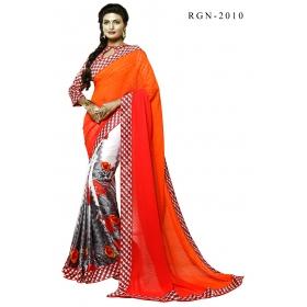 D No 2010 Rang 2 - Rangoon Vol - 2 Series - Office / Daily Wear Saree