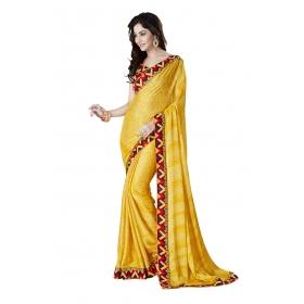 D No 1010 - Orange Mithai Series - Office / Daily Wear Saree