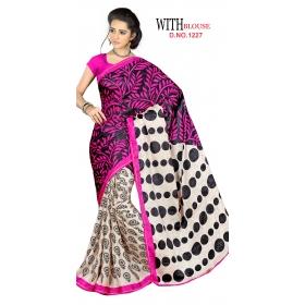 D No 1227 Kesar - Kesar Barfi Series - Office / Daily Wear Saree