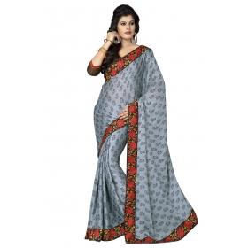 D No 1012 - Swarna Pankh Series - Office / Daily Wear Saree