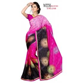 D No 2108 - Hike Silk Series - Office / Daily Wear Saree