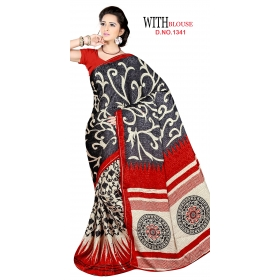 D No 1341 Kesar - Kesar Barfi Series - Office / Daily Wear Saree