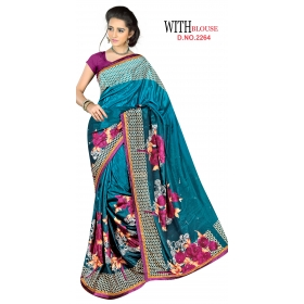 D No 2264 - London Beauty Series - Office / Daily Wear Saree