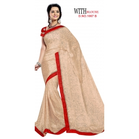 D No 1067 B - Memory Series - Office / Daily Wear Saree