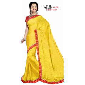 D No 1254 A - Memory Series - Office / Daily Wear Saree