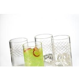Borosil Vision Glass Bracelet - 295 Ml Set Of 6
