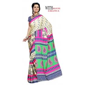 D No 2751 A Kasturi - Kasturi Silk Series - Office / Daily Wear Saree